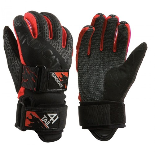 HO 41 Tail Ski Glove Red