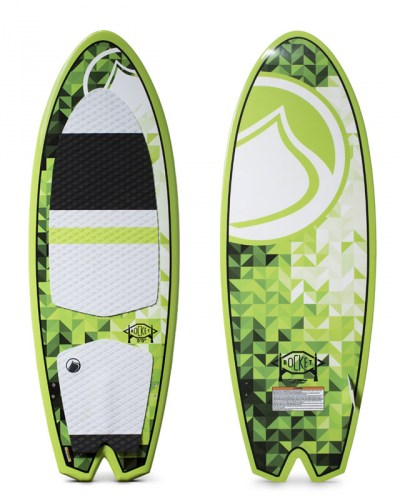Liquid Force Rocket Green Wakesurfer 2016